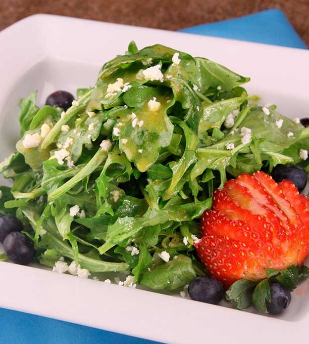 BERRY SALAD WITH CURRY VINAIGRETTE